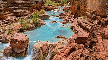 Havasu Canyon along the Colorado