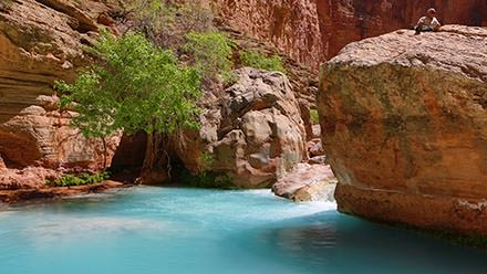 Rafting to Havasu Canyon