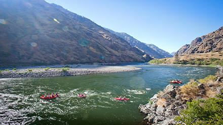 Hells Canyon Rafting Flotilla