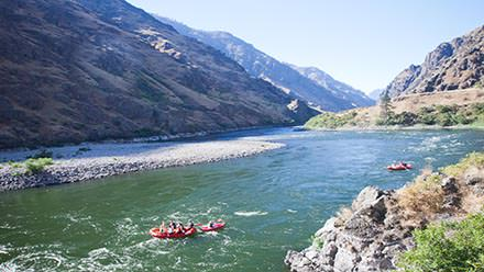 Rafting the Snake River in Hell's Canyon