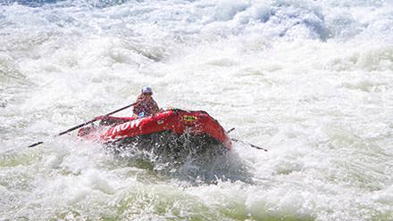 Hells Canyon Rafting Rowing Whitewater