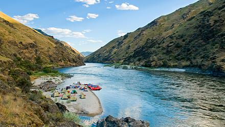 Lower Salmon River Rafting Camp