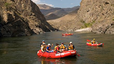 Lower Salmon River Rafting Rafts Gorge
