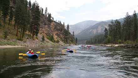 Main Salmon River Rafting Duckies