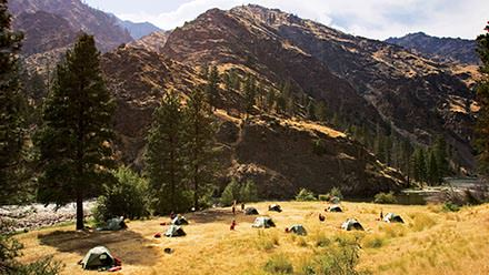 Middle Fork Salmon River Rafting Camp 2