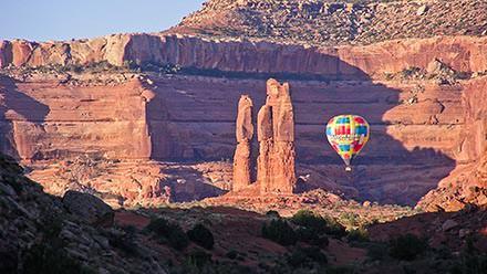 Hot Air Ballooning in Moab