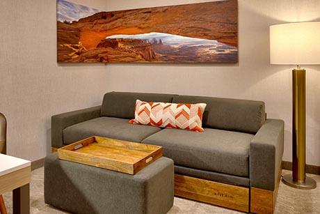 Queen Suite Marriott Springhill