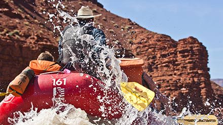 Moab Rafting Trip Cowboy