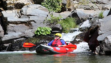 Rogue River Rafting Duckie Waterfall