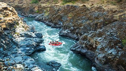 Rogue River gorge in Oregon