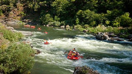 Rogue River Rafting Whitewater Flotilla