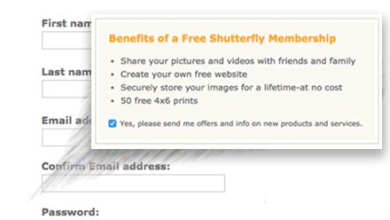 Shutterfly Instruction 1