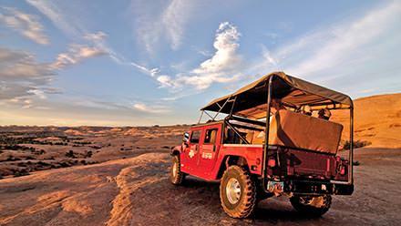 Southwest Vacation Package Hummer Range