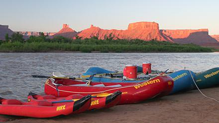 Southwest Vacation Package Rafts Sunrise
