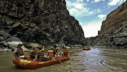 Westwater Canyon Rafting Float