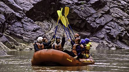 Westwater Canyon Rafting Paddle High Five
