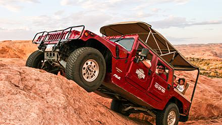 Hummer Safari on Hell's Revenge Trail