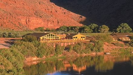 Red Cliffs Lodge near Moab, Utah