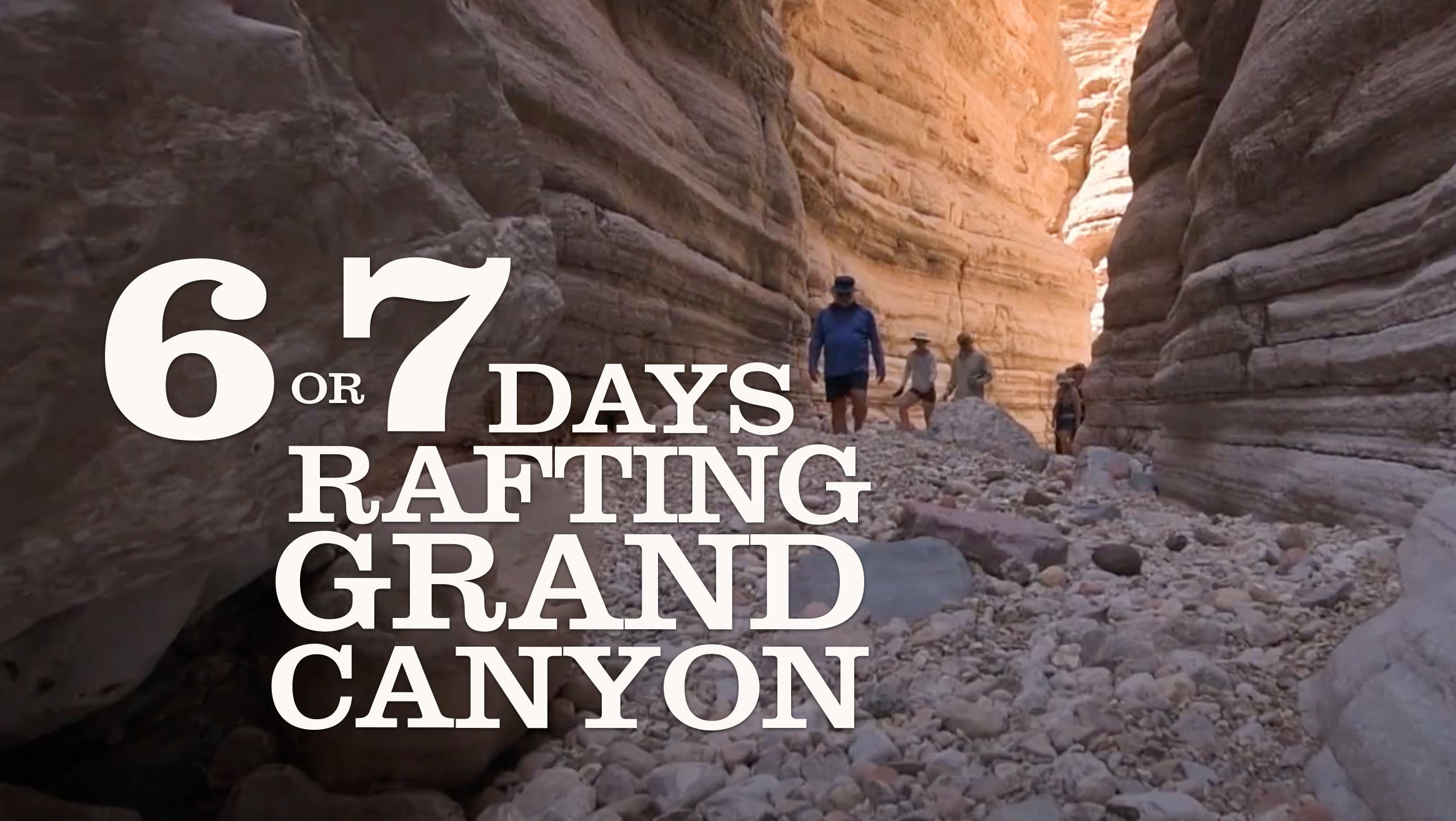 Grand Canyon Whitewater Rafting Vacation